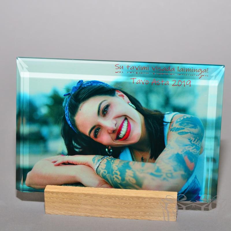 , darbų galerija nuotrauka ant stiklo