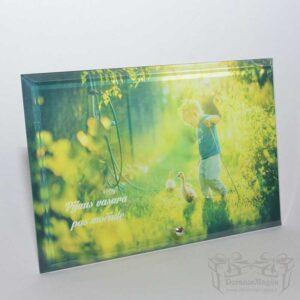 nuotrauka ant stiklo, 16x25x1cm