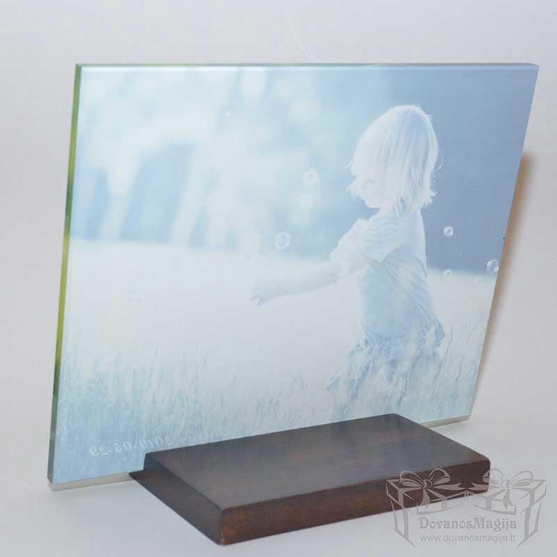 foto rėmelis nuotrauka ant stiklo, dovana Valentino dienai