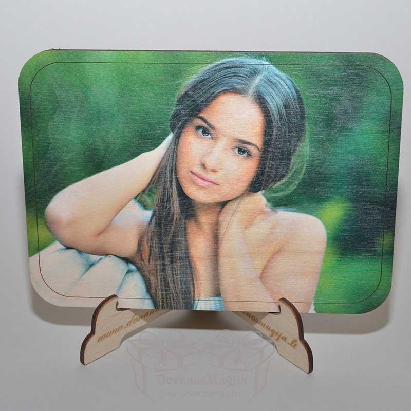 UV spausdinimas DovanosMagija medinė foto dovana