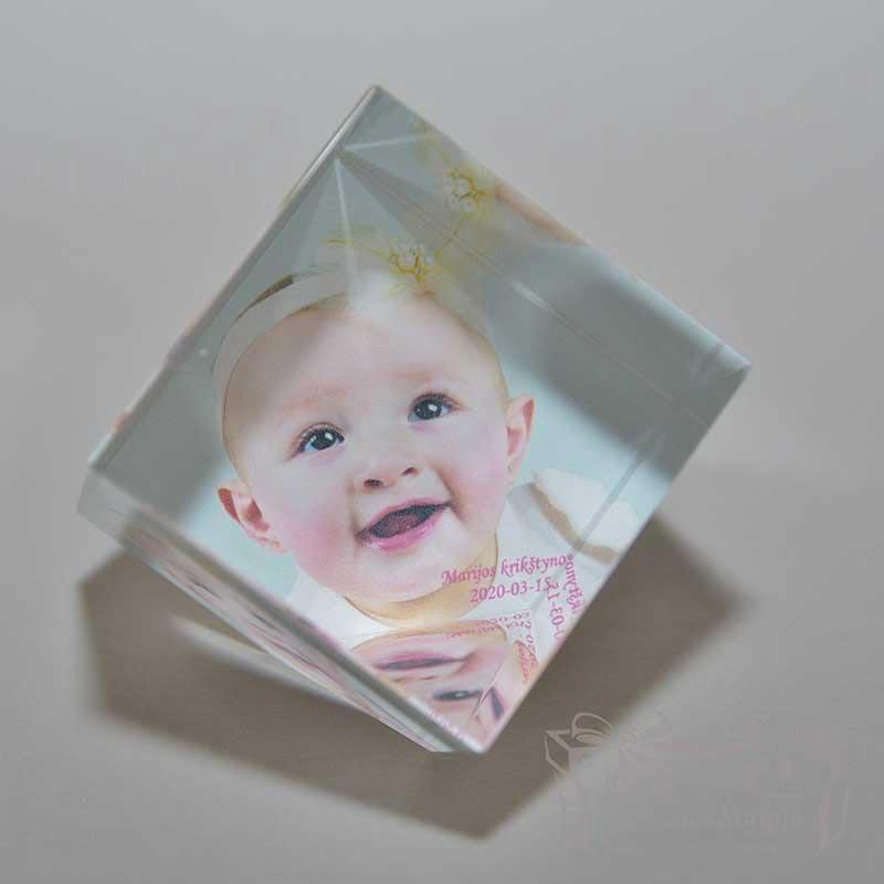 UV spausdinimas Dovanos ant stiklo dovanos krikštynoms