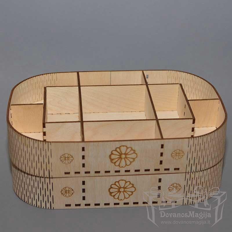 medinė dėžutė, papuošalų dėžutė, Medinės Dovanos iš plokštės