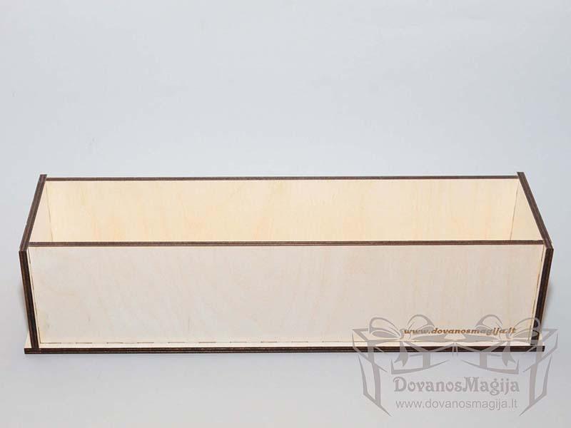 Medinė dėžutė muilo gamybai 35x9x9cm